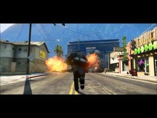 GTA 5 - Огонь, Взрывы, Аварии (Fire, Explosions, Failures) EPIC!