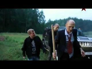 актер Денис Мокроусов на черном Хаммере :)) телесериал