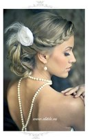Свадебные прически, выполненные в ретро-стиле, также являются трендом 2013 года.  Актуальны прически в стиле...