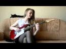Девушка красиво и играет на электро гитаре, Красивая девушка отлично виртуозно играет на гитаре, необычные приемы игры. очень сексуальная девка с обалденным красивым телом с заманчивыми ножками в постели развлекается и занимается музыкой, очень нежная киска дает между ног играть на гитаре, милашка сделала приятное в кровати, молодые в постели, домашнее видео девушки, молодеьнкая с большой грудью дает гитару, сексуальная девка стриптиз с гитарой