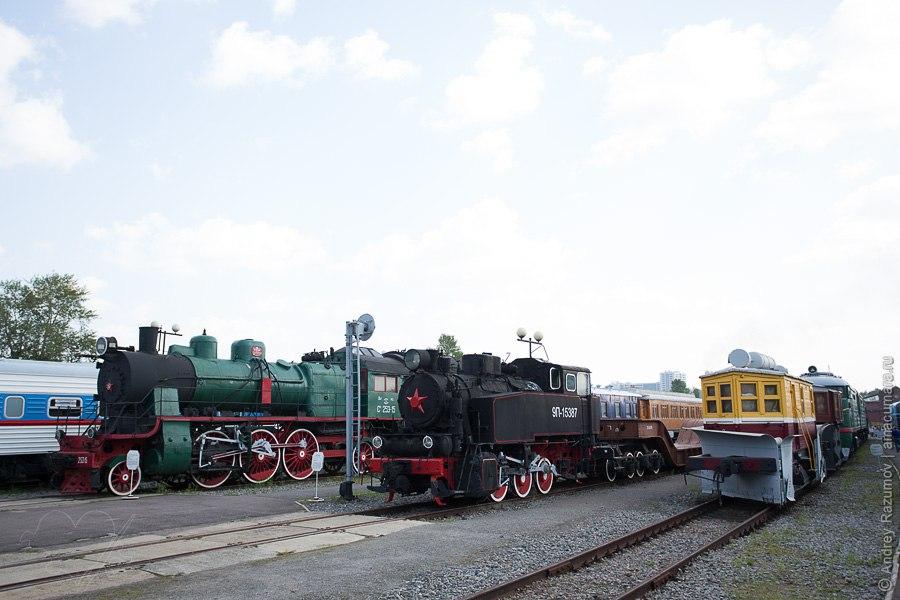 Музей железнодорожной техники в Санкт-Петербурге Витебский вокзал