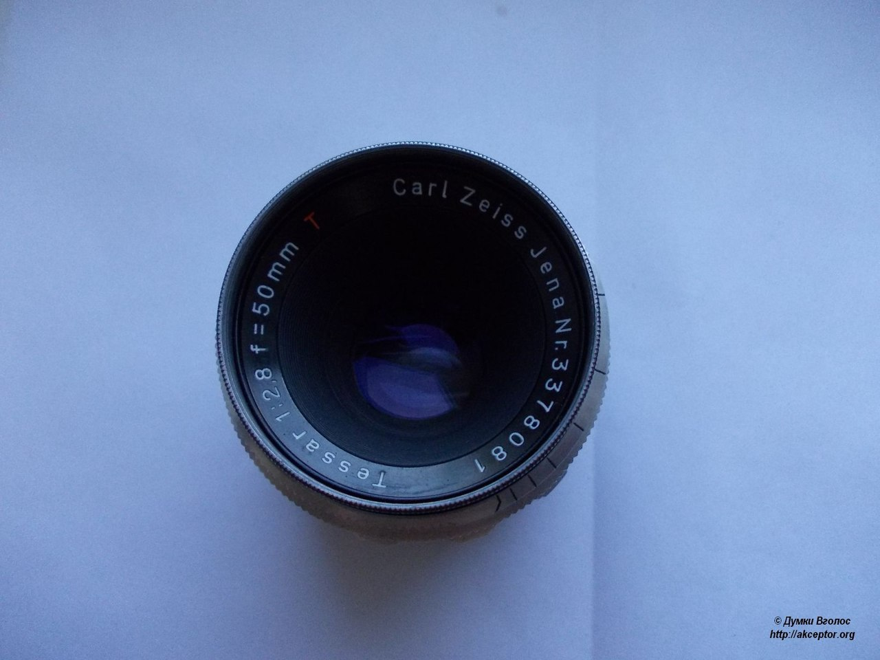 Carl Zeiss Jena Tessar 1:2,8 f=50mm T