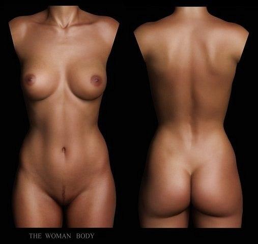 Фото женского голого тела