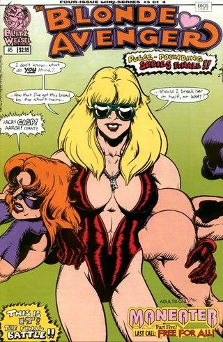 Blonde Avenger 5