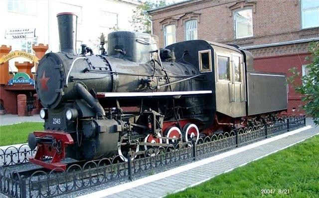 Паровоз Кч4-328. ( Екатеринбург)