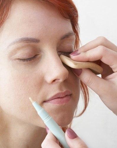 Дневной макияж для жирной кожи