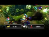 Incredible fight by Na`Vi vs Empire @ StarLadder LAN-Finals - VII