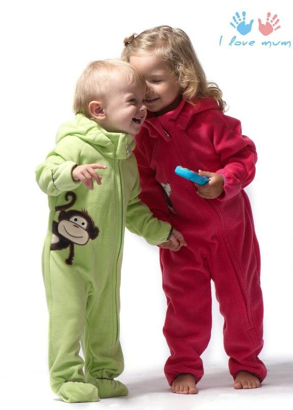Флисовая одежда для детей 5