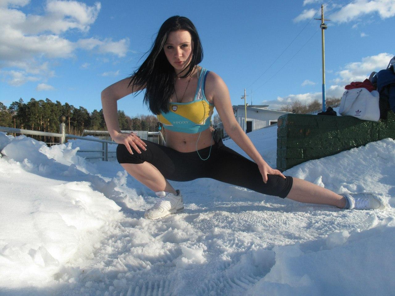 Девушки занимающиеся спортом 10 фотография