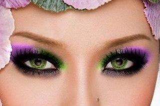 Макияж брюнетки с карими глазами цветгуб
