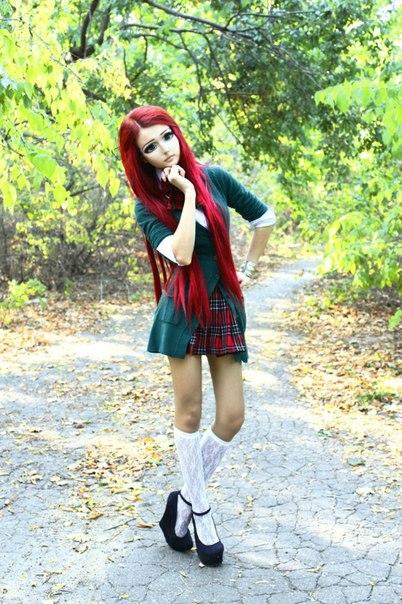 Фото девушка кукла дакота роуз