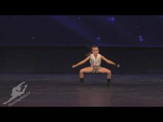 Энергичный танец 10-летней девочки (werk)