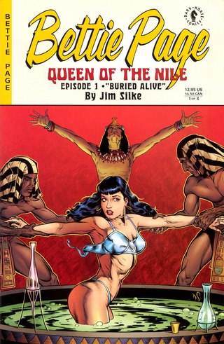 Bettie Page Queen of The Nile 1