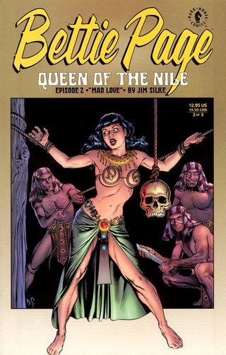 Bettie Page Queen of The Nile 2