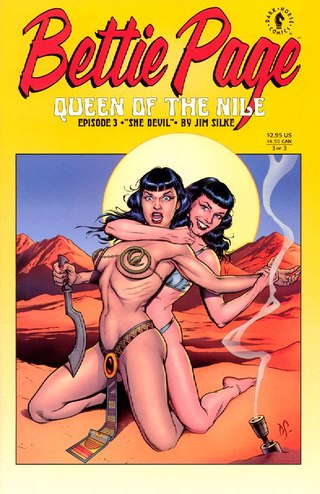 Bettie Page Queen of The Nile 3