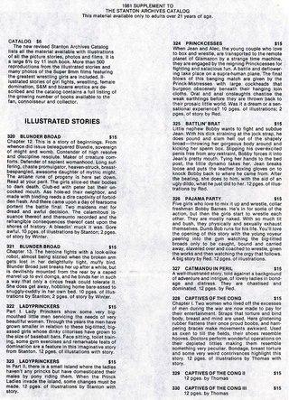 Stanton Catalog