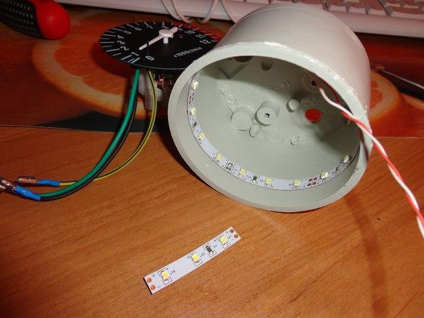 Как сделать подсветку на мопед альфа