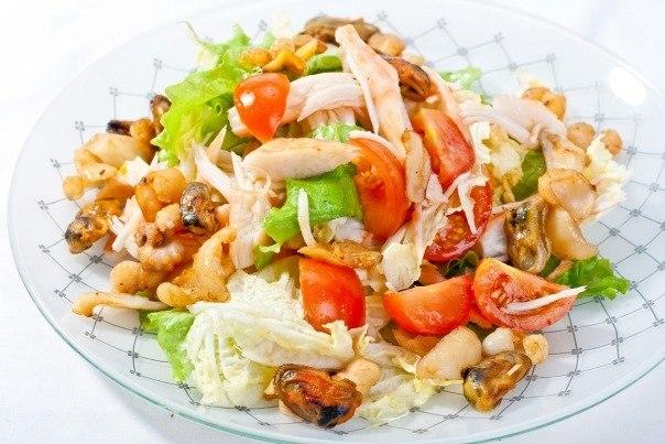 Ркачать салат из морского коктейля рецепты Этот рецепт в разделах: джем...