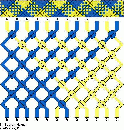 Косое плетение: клетка(2