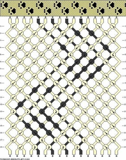 Косое плетение: лапки :3