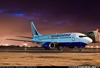 """Boeing-737 "" авиакомпании  ""Трансаэро "" ."