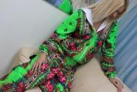 Платковый костюм в стиле Лурдес. Размеры 44-60