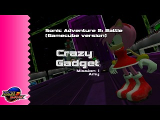 Sonic Adventure 2: Battle // Crazy Gadget M1 as Amy