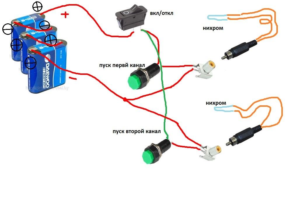 Электрошокер сделать своими руками 248