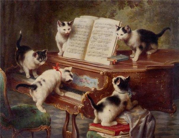 картина урок музыки: