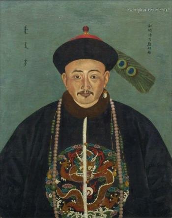 Гюнге-Церен нойон (сын Цебек-Дорджи)