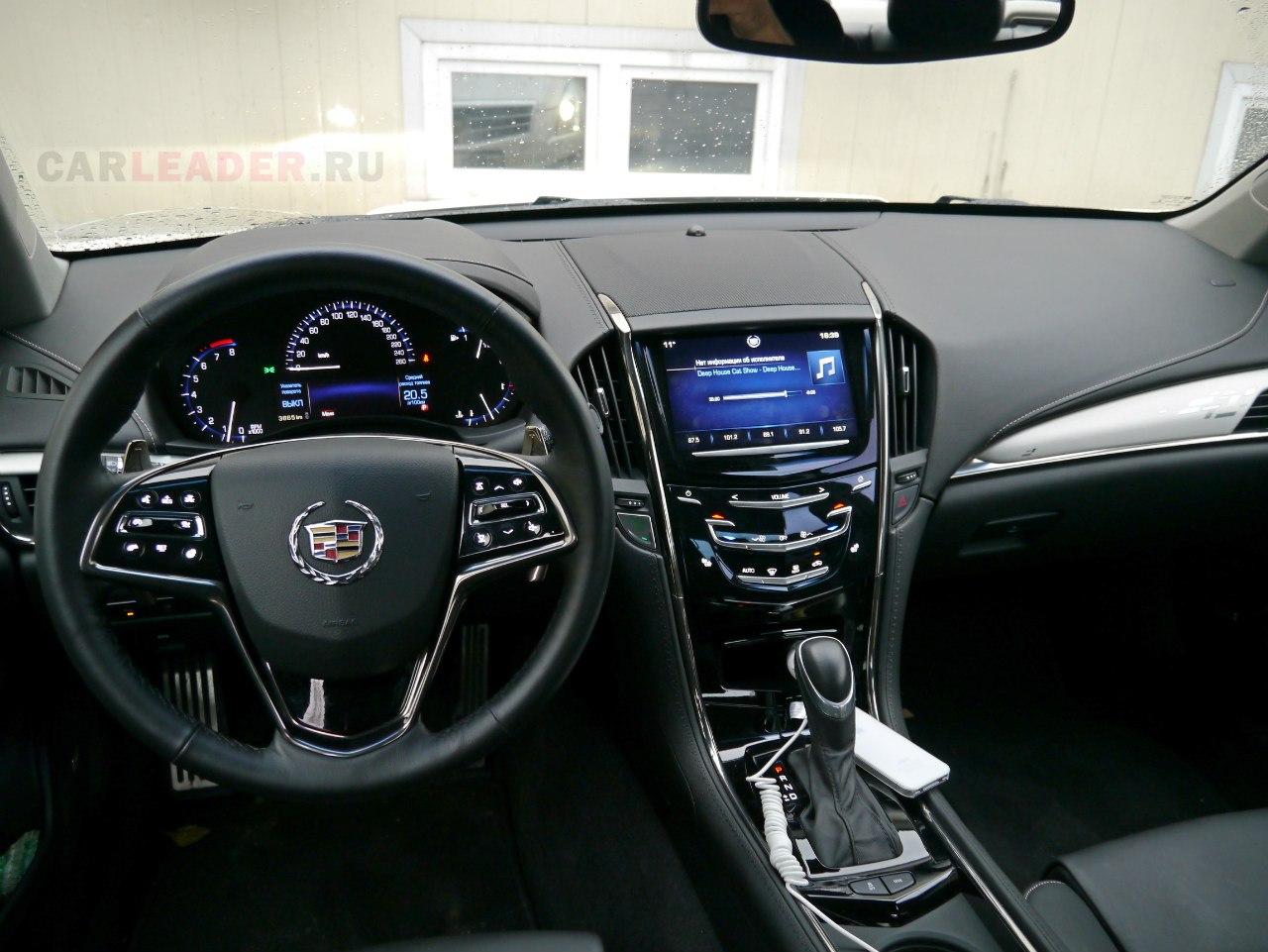 Лобовое стекло Cadillac ATS