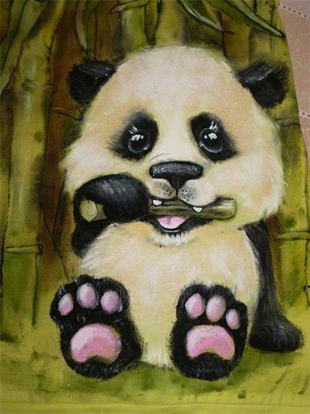 панды-рукодельницы - науке