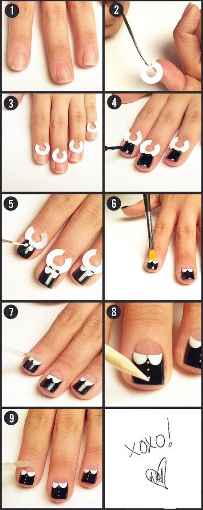 Дизайн коротких ногтей своими руками фото