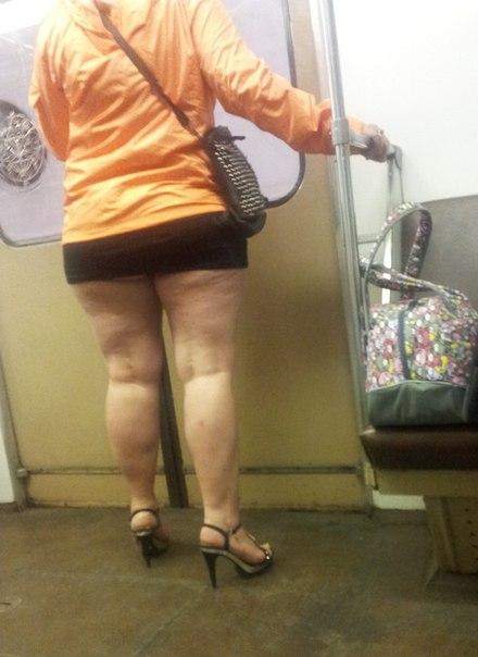 толстые в юбках фото