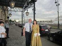 Елена-мама нашей невесты. Вечерняя коллекция. лето 2012