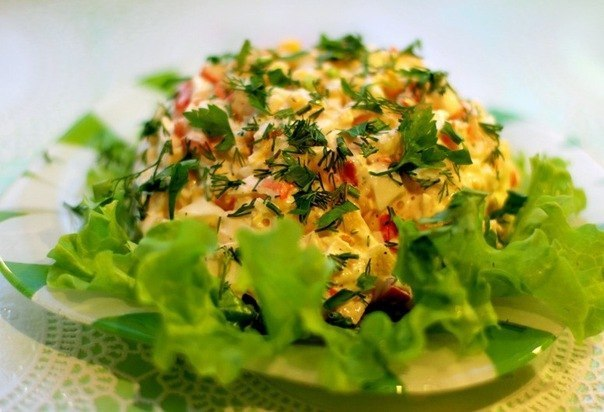 Просмотреть бесплатно рецепты салатов фото