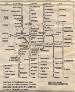 копирайт:рекламное агентство КОММЕТ, газета МЕТРО от 28.11.03. название:схема развития метрополитена =Ctrl.
