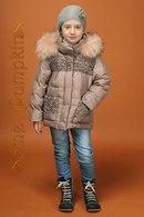 Зимние Костюмы Для Девочек С Натуральным Мехом