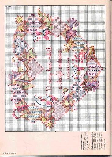 Рубрики: Вышивка крестом/Схемы