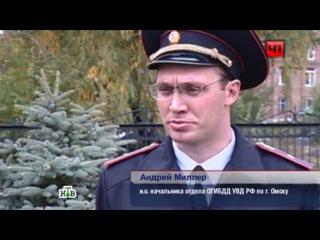 Пьяный тракторист устроил гонки в Омске и разнес детскую площадку