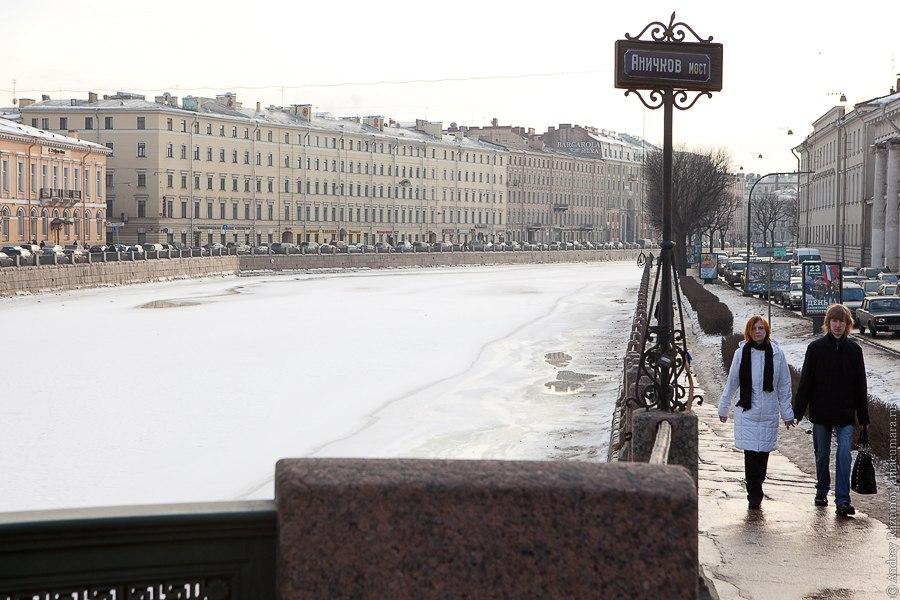 Весна Петербург