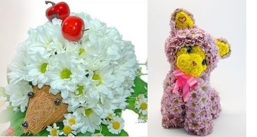 Фигуры с цветами своими руками
