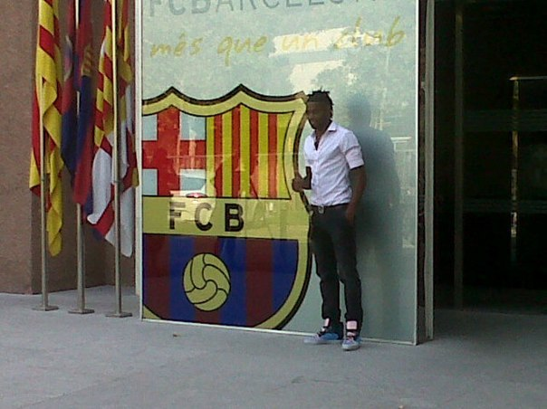 Алекс Сонг: Добро пожаловать в Барселону