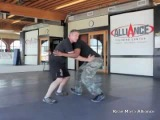 Krav Maga - Front Bearhug While Being Lifted, Self-Defense Technique - Alliance Culver City