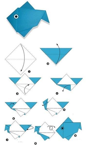 А Вы помните, как складывать оригами? Если не помните - не беда! Схемы понятно объяснят, как складывать пингвина, сову и других персонажей. Такое кропотливое и спокойное занятие поможет Вам надолго занять досуг ребенка.