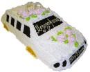 Свадебный торт в виде свадебной машины - интересный вариант для...