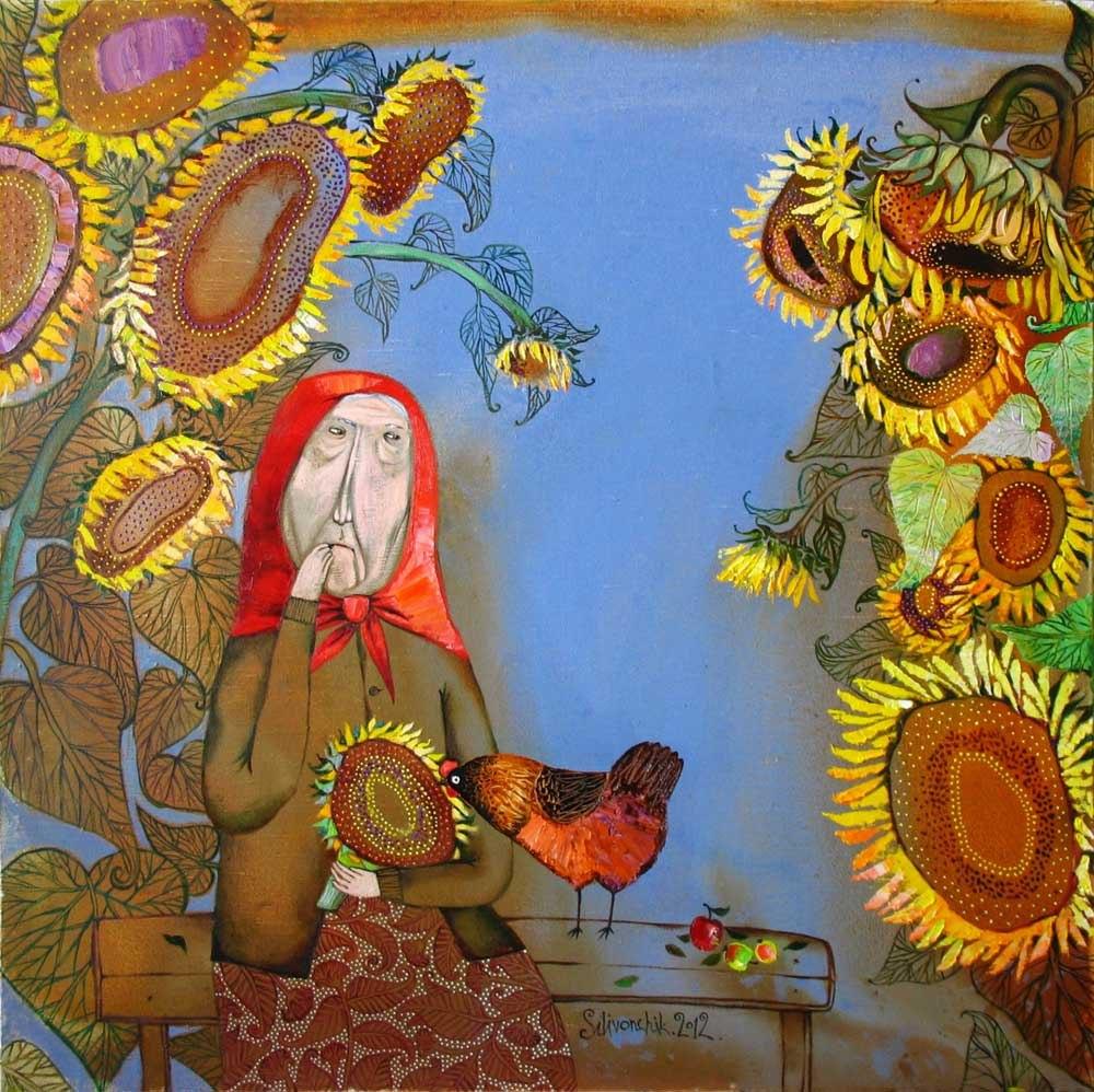 """""""Добрый день!"""" выставка живописи Анны Силивончик в Москве"""