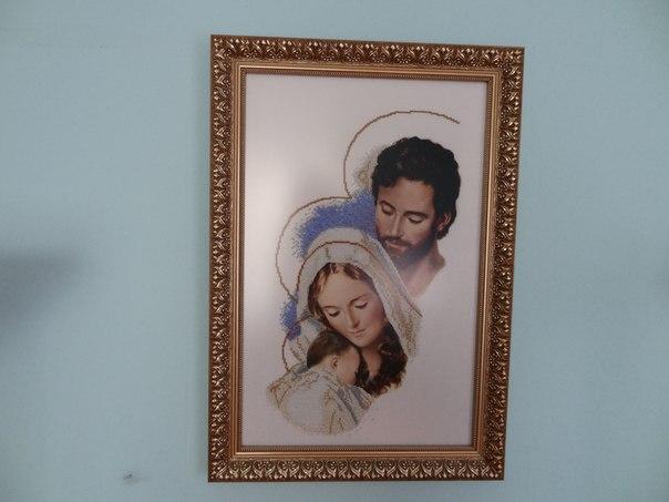 Продам ікону святе сімейство