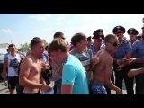 Жители города Пугачева Саратовской области перекрыли федеральную трассу