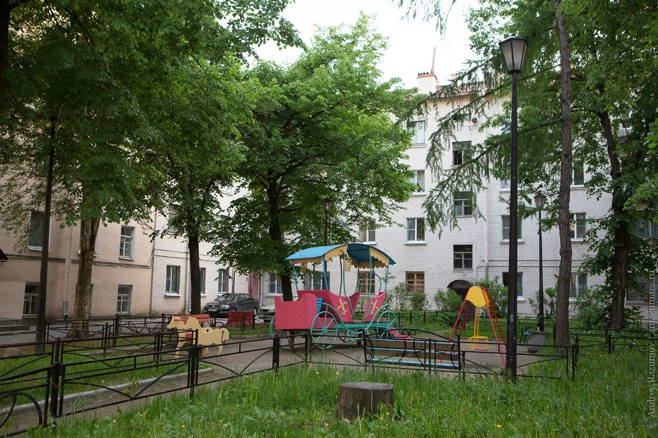 Адмиралтейский дворик исторический дворик на Гороховой